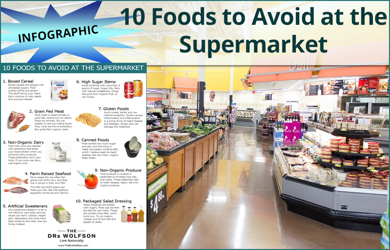 10 Foods to Avoid at the Supermarket