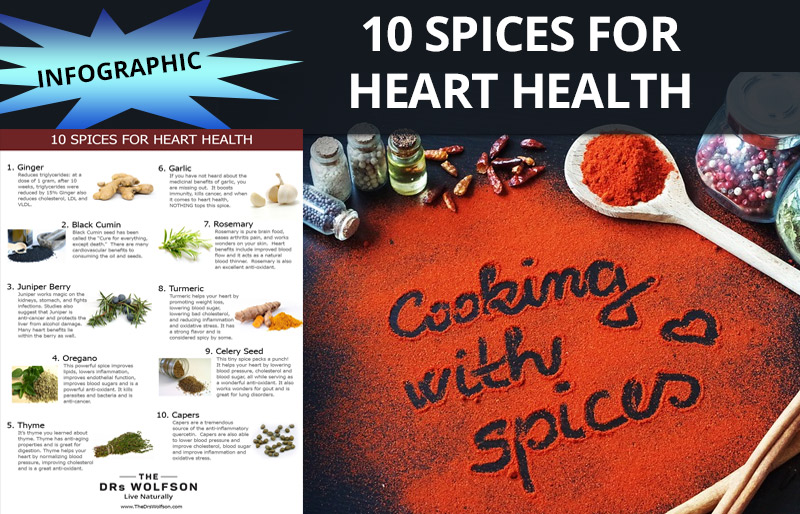 10 Great Tasting Spices that Promote a Healthy Heart